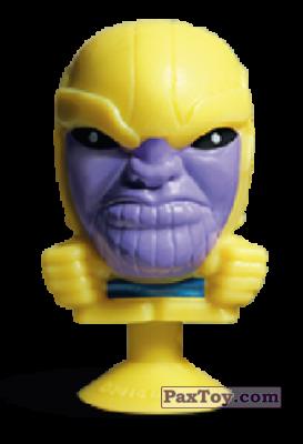PaxToy.com - 21 Thanos (Stikeez) из Carrefour: Marvel Avengers (Megapopz)