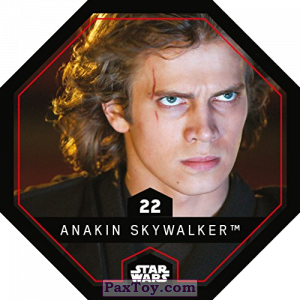 PaxToy.com - 22 Anakin Skywalker из REWE: Star Wars Cosmic Shells