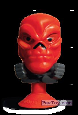 PaxToy.com - 22 Teschio Rosso (Stikeez) из Carrefour: Marvel Avengers (Megapopz)