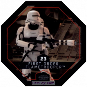 PaxToy.com - #23 First Order Flametrooper из Winn-Dixie: Star Wars Cosmic Shells