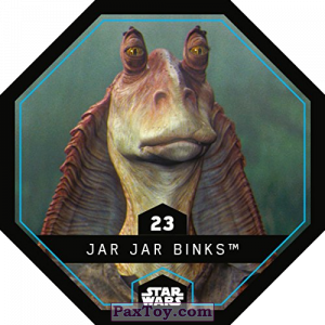 PaxToy.com - 23 Jar Jar Binks из REWE: Star Wars Cosmic Shells