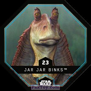 PaxToy.com - 23 Jar Jar Binks из REWE: Star Wars Cosmic Shells