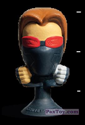 PaxToy.com - 24 Soldato d'Lnverno (Stikeez) из Carrefour: Marvel Avengers (Megapopz)
