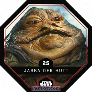 PaxToy.com - 25 Jabba Der Hutt из REWE: Star Wars Cosmic Shells