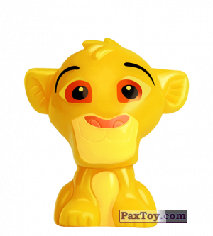 PaxToy.com - 25 Simba - The Lion King из REWE: Die Disney Wikkeez Toys