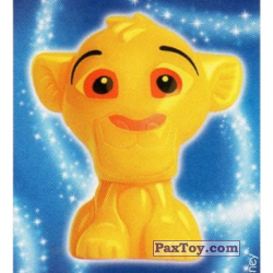 PaxToy 25 Simba   The Lion King (Sticker)