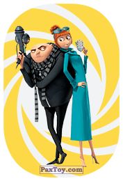 PaxToy.com - 26 Gru & Lucy из REWE: Minions Cards