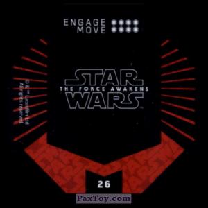 PaxToy.com - #26 Storm Trooper (Сторна-back) из Winn-Dixie: Star Wars Cosmic Shells