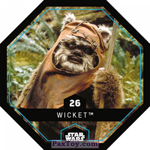PaxToy.com - 26 Wicket из REWE: Star Wars Cosmic Shells