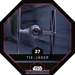 PaxToy.com - 27 Tie Jager из REWE: Star Wars Cosmic Shells