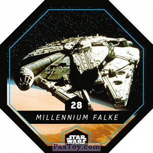 PaxToy.com - 28 Millennium Falke из REWE: Star Wars Cosmic Shells