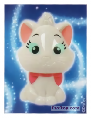 PaxToy.com - 29 Marie - The Aristocats (Sticker) из REWE: Die Disney Wikkeez Stickers