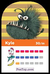 PaxToy.com - 30 Kyle (Сторна-back) из REWE: Minions Cards