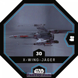 PaxToy.com - 30 X-Wing-Jager из REWE: Star Wars Cosmic Shells