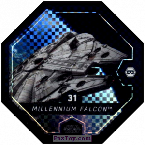 PaxToy.com - #31 Millenium Falcon из Winn-Dixie: Star Wars Cosmic Shells