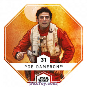 PaxToy.com - 31 Poe Dameron из REWE: Star Wars Cosmic Shells