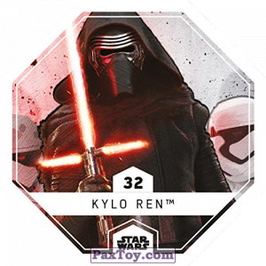 PaxToy.com - 32 Kylo Ren из REWE: Star Wars Cosmic Shells