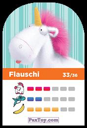 PaxToy.com - 33 Flauschi (Сторна-back) из REWE: Minions Cards