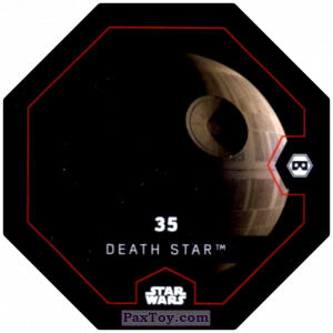 PaxToy.com - #35 Death Star из Bi-Lo: Star Wars Cosmic Shells