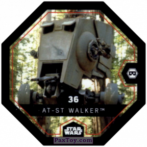 PaxToy.com - #36 AT-ST Walker из Bi-Lo: Star Wars Cosmic Shells