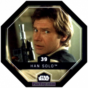 PaxToy.com - #39 Han Solo из Bi-Lo: Star Wars Cosmic Shells