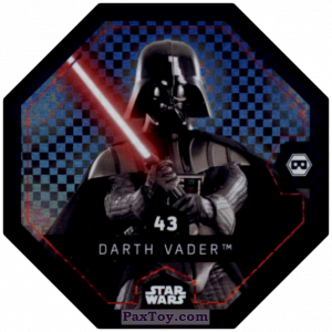 PaxToy.com - #43 Darth Vader Foil из Bi-Lo: Star Wars Cosmic Shells