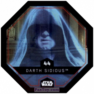 PaxToy.com - #44 Darth Sidious из Winn-Dixie: Star Wars Cosmic Shells