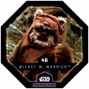 PaxToy.com - #46 Wicket W. Warrick из Winn-Dixie: Star Wars Cosmic Shells