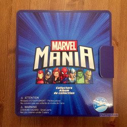 PaxToy Air Miles   2017 Marvel Mania (Micropopz)   04 Collector Box