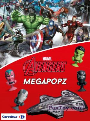 PaxToy Carrefour: Marvel Avengers (Megapopz)