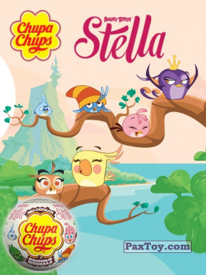PaxToy Choco Balls: Stella Angry Birds