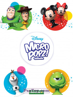 PaxToy Dis Chem 2018 Disney MicroPopz! logo tax