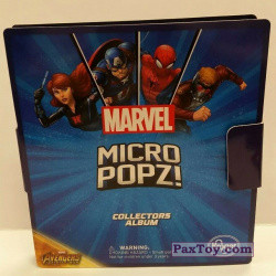 PaxToy Kroger   2018 Marvel Avengers Micro Pop   01 Box