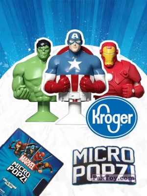 PaxToy Kroger: Marvel Avengers Micro Pop
