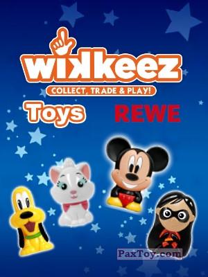 PaxToy REWE: Die Disney Wikkeez Toys