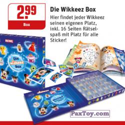 PaxToy REWE 2014 Die Disney Wikkeez   1 Wikkezbox