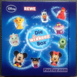 PaxToy REWE 2014 Die Disney Wikkeez   2 Box