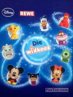 PaxToy REWE   2014 Die Disney Wikkeez logo tax