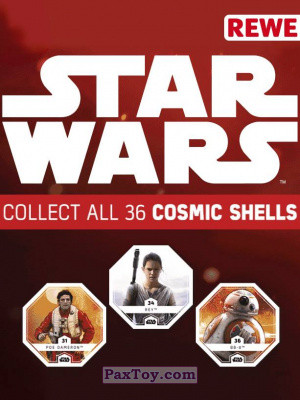 PaxToy REWE: Star Wars Cosmic Shells