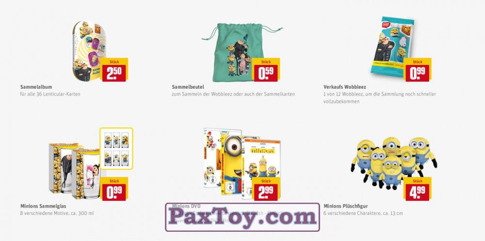 PaxToy REWE 2017 Minions