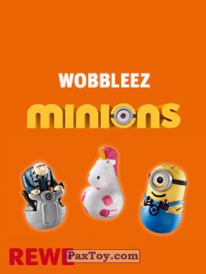PaxToy REWE 2017 Minions wobbleez logo tax