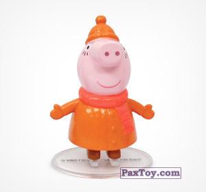 PaxToy.com - 01 Мама Свинка из Choco Balls: Свинка Пеппа. Зима