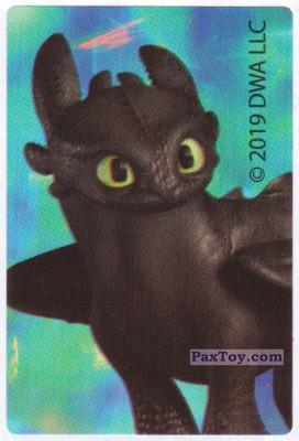 PaxToy.com - 01 Toothless из Магнит: Стикеры Как Приручить Дракона 3