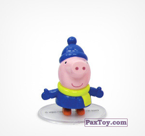 PaxToy.com - 02 Джордж из Choco Balls: Свинка Пеппа. Зима