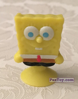 PaxToy.com - 02 SpongeBob Two Teeth из Salati Preziosi: SpongeBob Stikeez