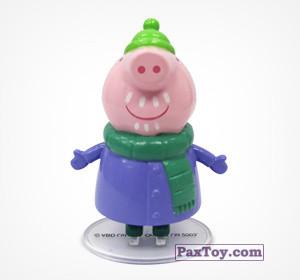PaxToy.com - 04 Дедушка Пеппы из Choco Balls: Свинка Пеппа. Зима