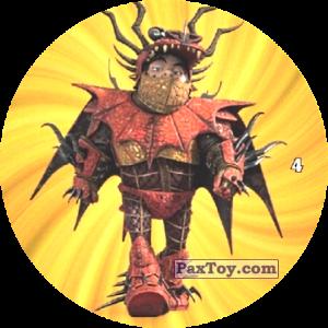 PaxToy.com - 04 Snotlout in armor из Chipicao: Как приручить дракона 3