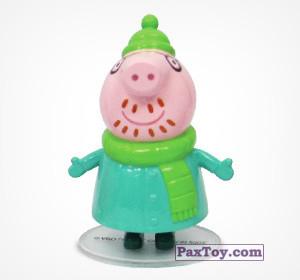 PaxToy.com - 05 Папа Свин из Choco Balls: Свинка Пеппа. Зима