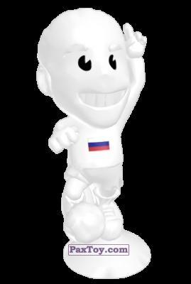 PaxToy.com - 05 Russia из Lidl: Stikeez Fussball EM CUP 2016