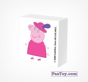 PaxToy.com - 07 Ластик из Choco Balls: Свинка Пеппа. Зима